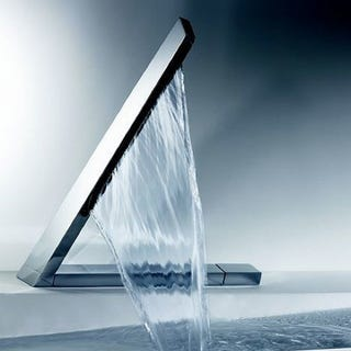 Illustration for article titled Hansa Latrava Sideways Faucet Has a Crazy Flow