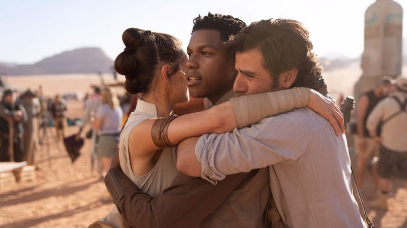 Episode IX is done filming.