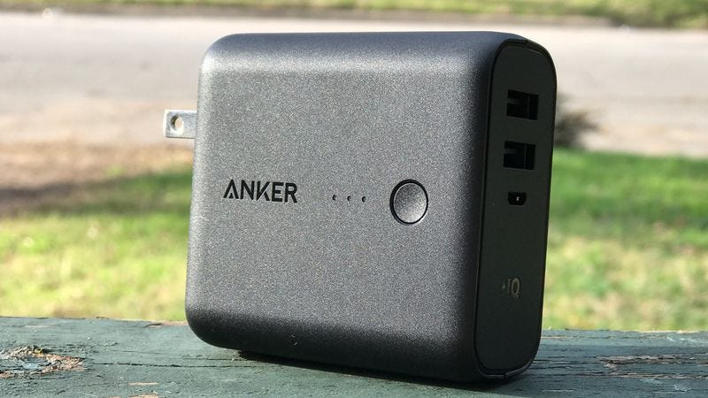Illustration for article titled Today's best deals: An Anker PowerCore charger, fitness equipment, and more