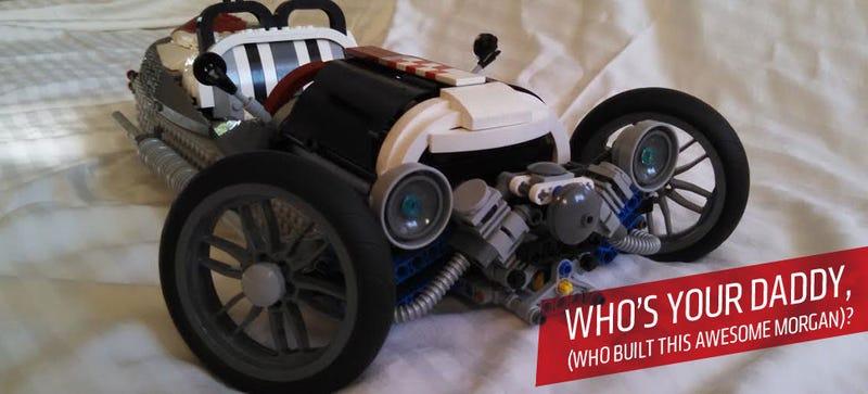 Illustration for article titled Dad Proves Kids Wrong By Making Fantastic Lego Morgan 3-Wheeler