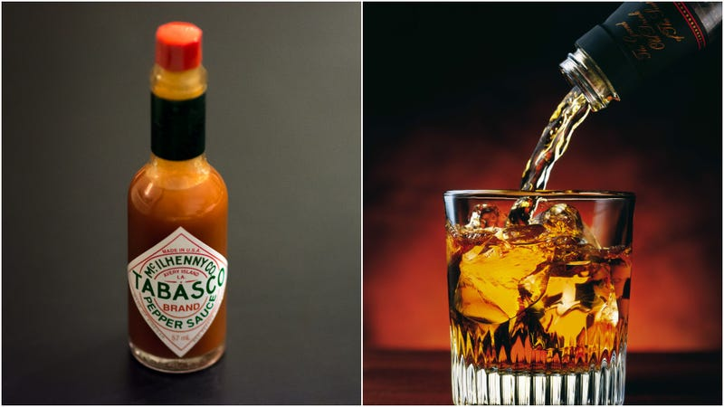 Illustration for article titled Tabasco-infused whiskey to add some significant spiciness to your cocktails
