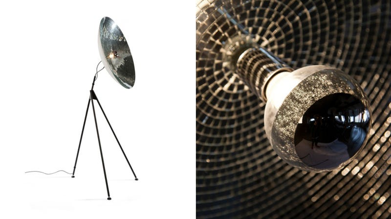 This Disco Ball Floor Lamp Is A Classy Take On A Kitschy Icon