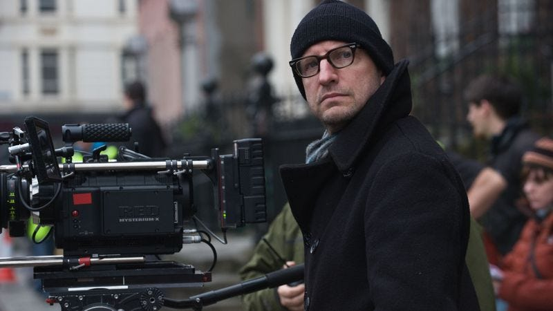 Steven Soderbergh on the set of Relativity Media's Haywire. Photo: Claudette Barius ©2011 Five Continents Imports, LLC.