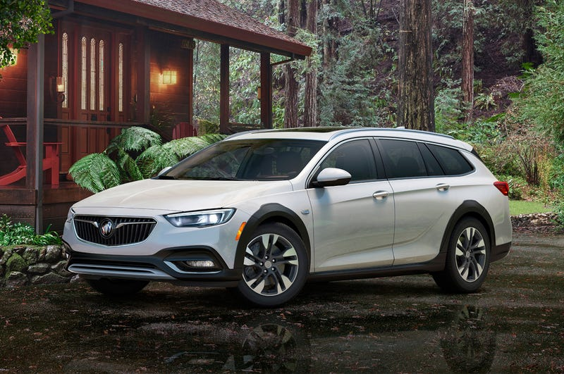 The 2017 Buick Regal Tourx Gives Us Some Hope For Future Of Wagons And Today It Brings Even More Good News Says Car Will Come Standard With