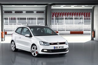 Illustration for article titled 2010 VW Polo GTI: First Photos