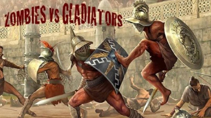 Illustration for article titled Zombies Vs. Gladiators to pit zombies against yet more things that are not zombies