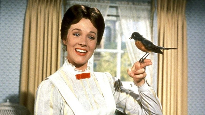 Illustration for article titled New Mary Poppins film isn't a remake, even has Julie Andrews' blessing