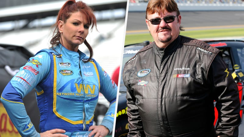 Illustration for article titled NASCAR Driver Accuses Other NASCAR Driver Of Stealing Her Trailer