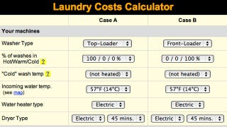 Illustration for article titled Laundry Costs Calculator Shows How Much You Spend Washing Clothes