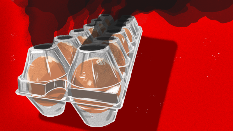 Illustration for article titled The Idiotic Reason That Egg Companies Are Turning to Plastic Packaging