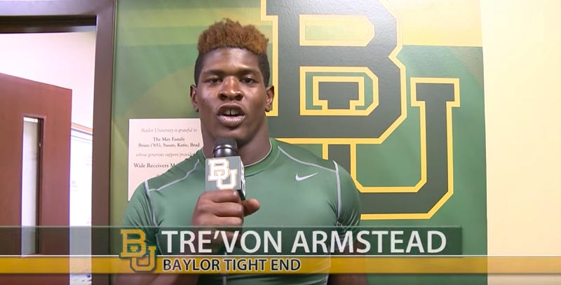 Illustration for article titled Ex-Baylor TE Tre'Von Armstead Charged With Sexual Assault From 2013