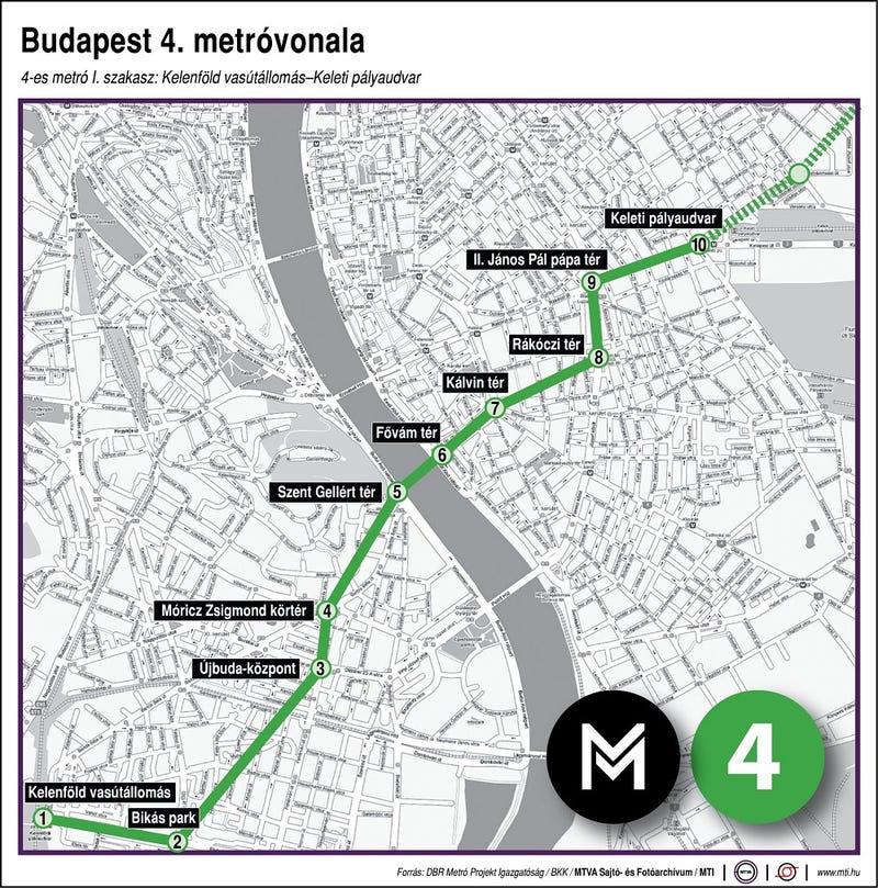 Illustration for article titled A négyes metró át van adva
