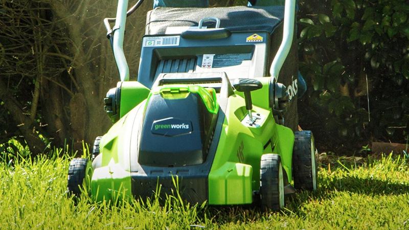 Cortador de césped eléctrico GreenWorks G-MAX 40V, $192