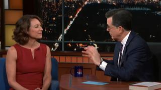 Emily Bazelon, Stephen Colbert