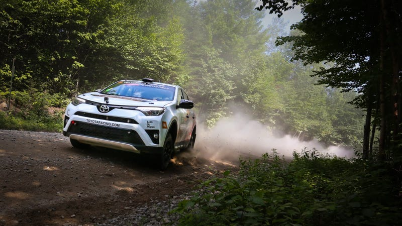 I Found A Way To Have Fun In The 2017 Toyota Rav4 Off Road Out Of It
