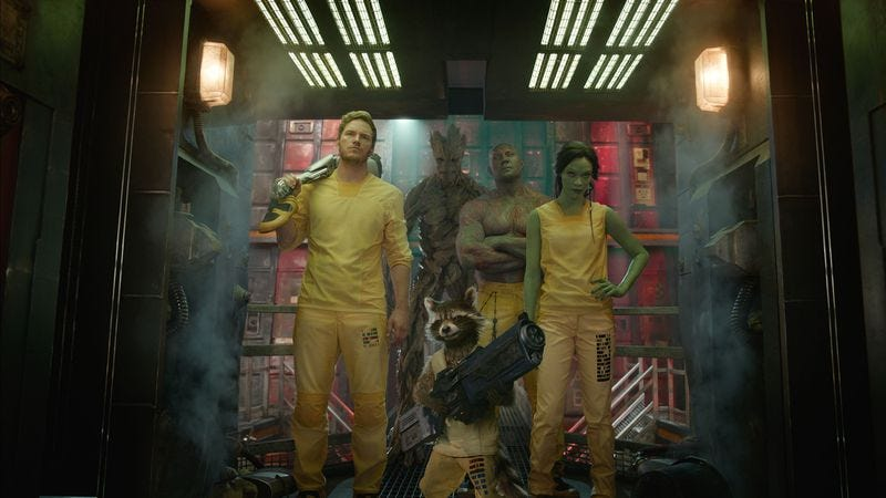 The Guardians Of The Galaxy gang