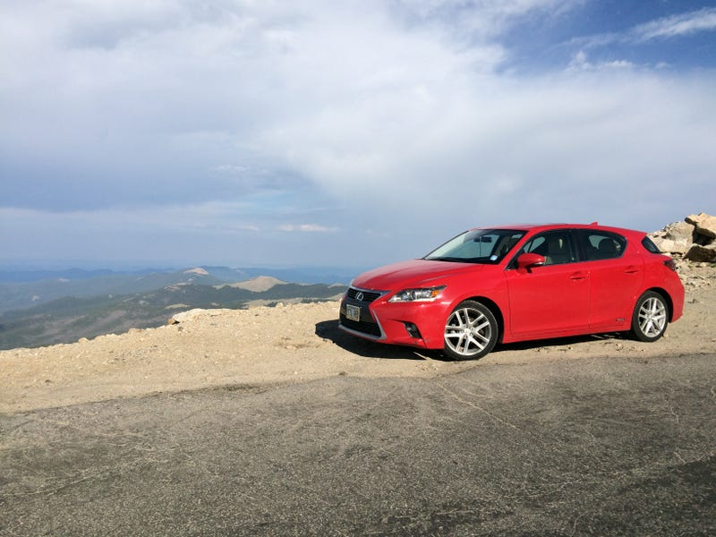 Illustration for article titled Took the Lexus Up Mt. Evans