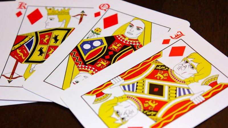 Illustration for article titled A Deck of Cards Featuring Kings, Queens, and Other Characters From Game of Thrones