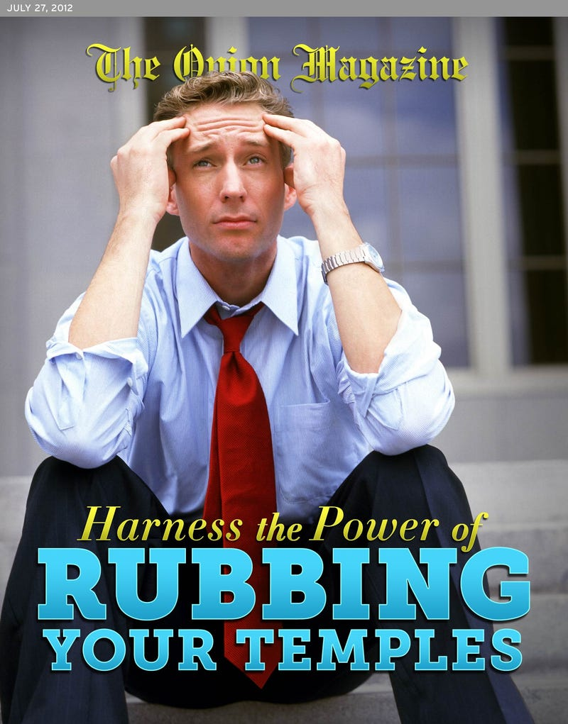 Illustration for article titled Harness The Power Of Rubbing Your Temples