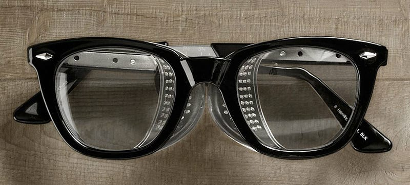 Illustration for article titled Retro Safety Glasses For Style-Conscious Carpenters