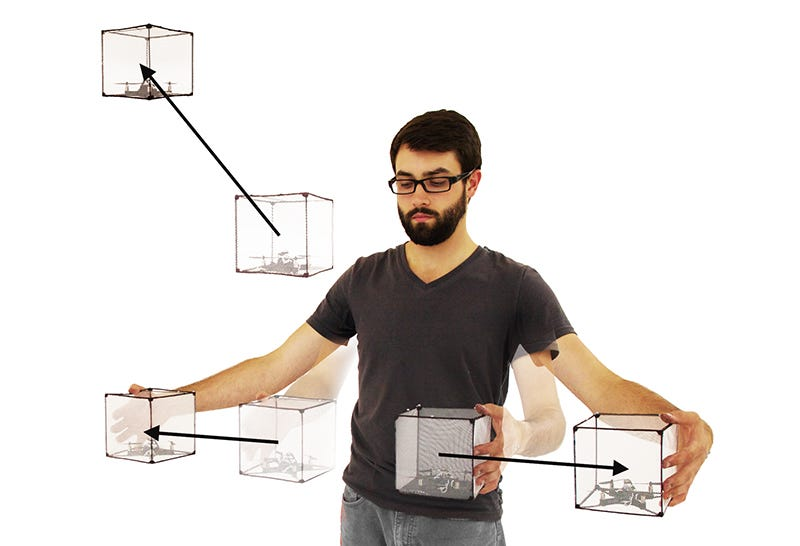 Illustration for article titled These Drones Are Like Floating Legos