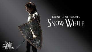 Illustration for article titled Kristin Stewart in Snow White & the Huntsman
