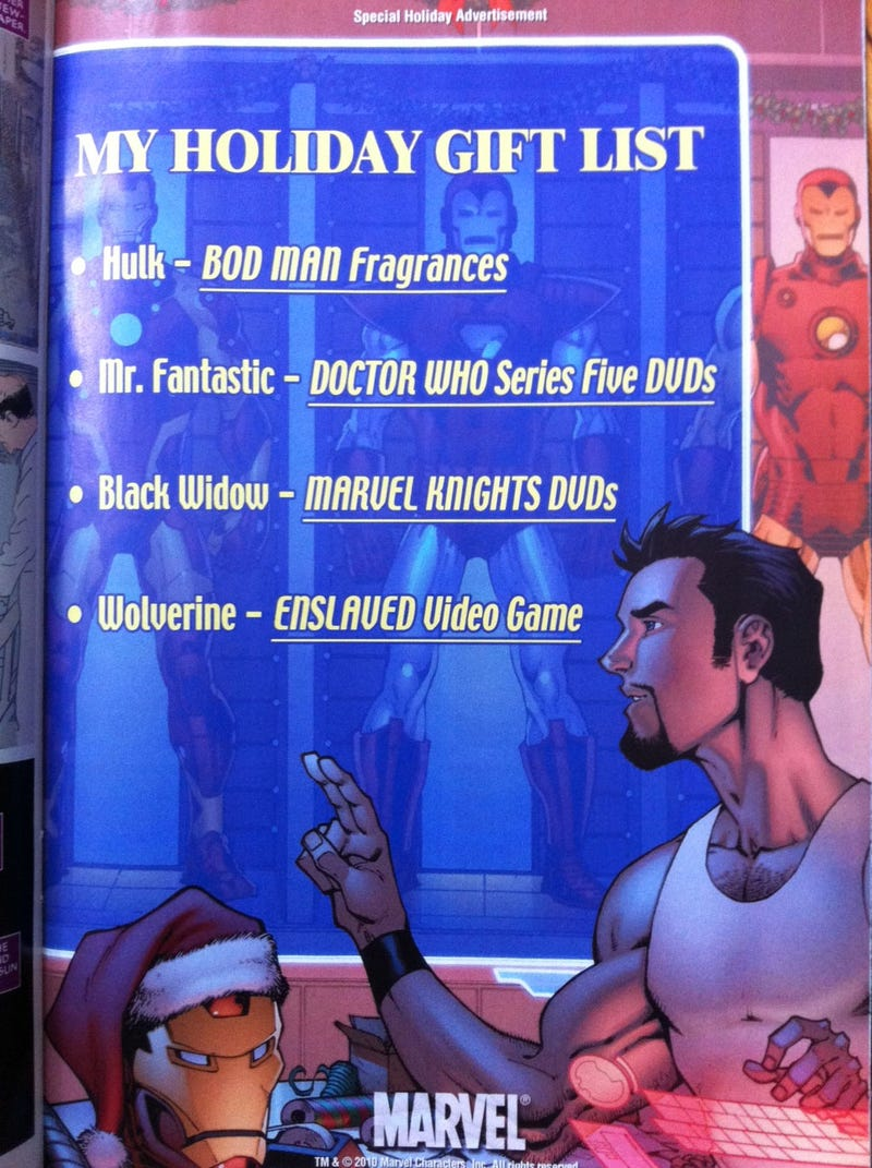 Illustration for article titled What Game Did Wolverine Get For Christmas?