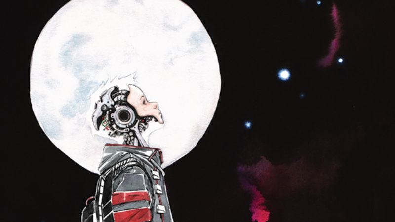 Illustration for article titled Sony buys movie rights to yet-unreleased sci-fi comic Descender