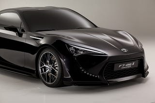 Illustration for article titled Toyota FT-86 II Concept continues turning balls blue