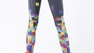 Illustration for article titled Tetris Knows how to Keep a Lady's Legs Warm