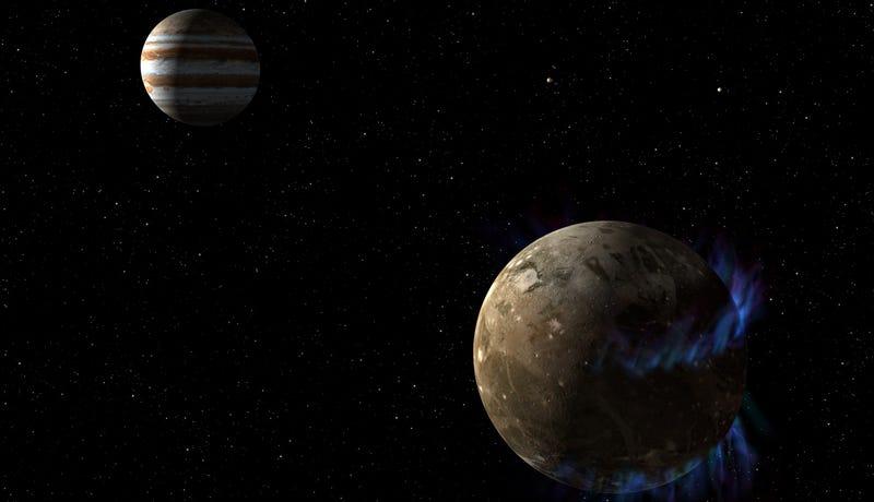 Illustration for article titled La luna más grande del sistema solar también esconde un océano