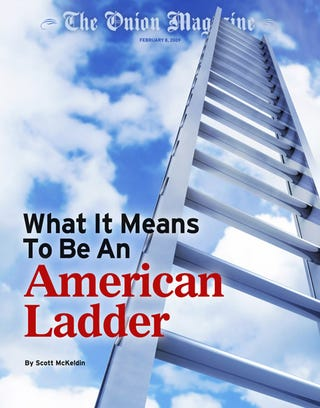 Illustration for article titled What It Means To Be An American Ladder