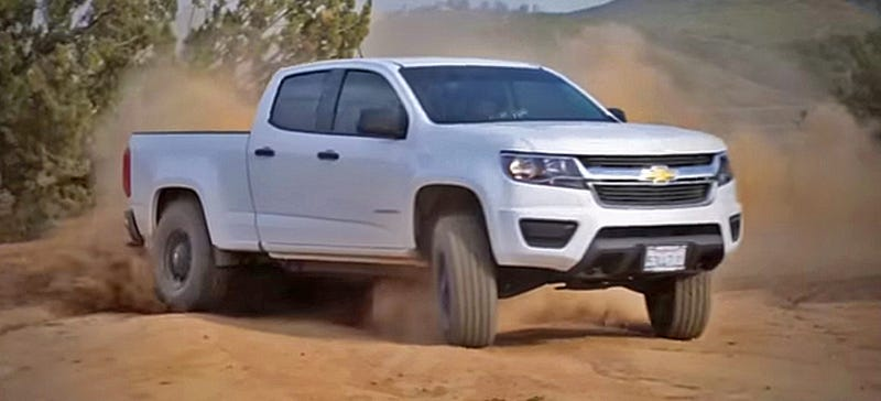 This Unofficial 2015 Chevy Colorado ZR2 Is Your Cheap Mini-Ford Raptor