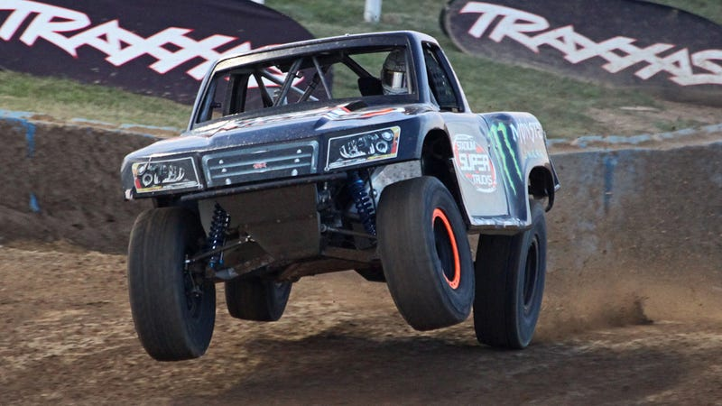 Illustration for article titled Why A Man Wants Me To Race A 600-hp Stadium Super Truck