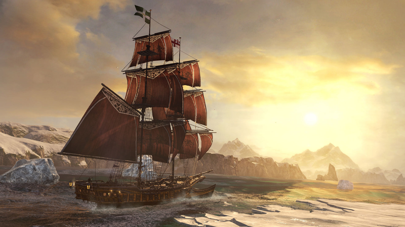 This is not Sea of Thieves. This is an Assassin's Creed game.