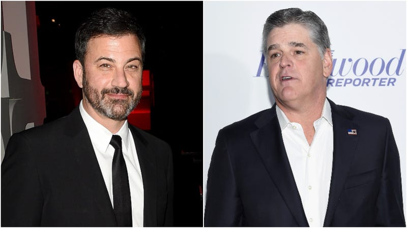 Illustration for article titled Fine, let's break down the feud between Jimmy Kimmel and Sean Hannity