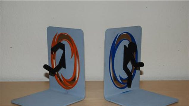These portal bookends are a success - Portal bookend ...