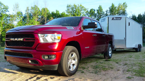 The 2020 Ram 1500 EcoDiesel Is a Torquier Version Of An