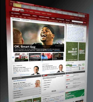 Illustration for article titled The ESPN Home Page Redesign Is Here
