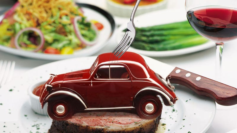 Illustration for article titled Here's Your Chance To Make Motoring History: Eat A Car