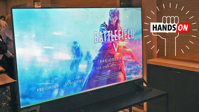 HP s 65-inch HDR Gaming Monitor With G-Sync Looks Spectacular