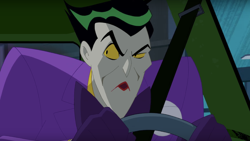 Joker & Trickster Abduct Mark Hamill in Justice League Action