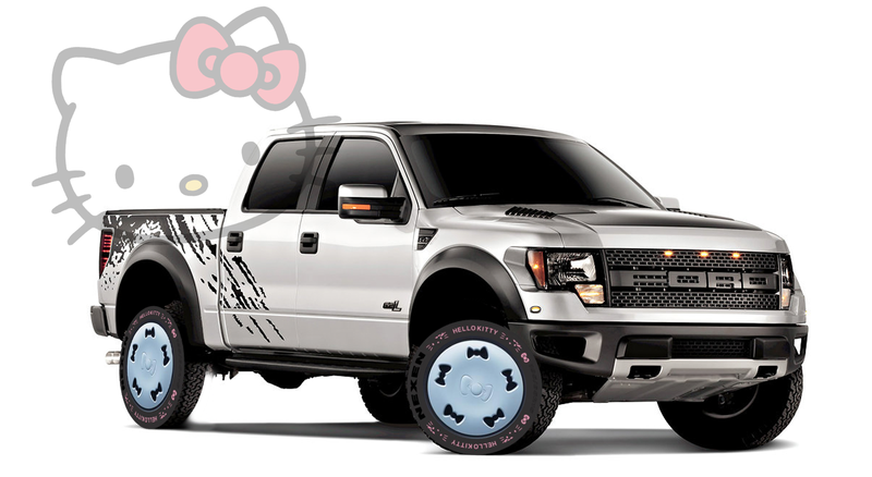 Illustration for article titled Finally, You Can Get Hello Kitty Tires For Your Car