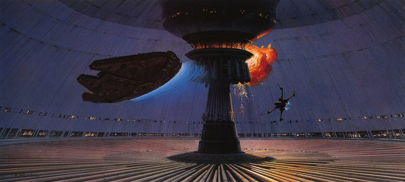 Illustration for article titled Star Wars' Most Explosive Moment, Captured Perfectly In A Video Game