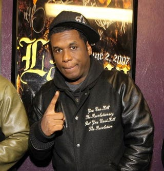 Rapper and overgrown child Jay Electronica
