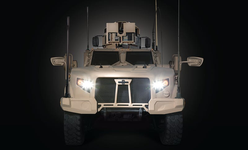 Illustration for article titled This Is The Army And USMC's Humvee Replacement