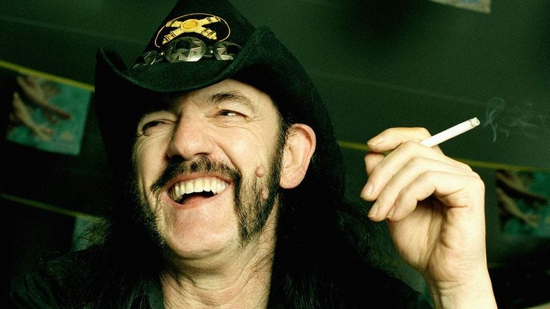 Lemmy in 2004. (Photo: Getty Images)