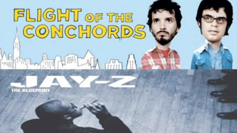 Illustration for article titled Jay-Z, Flight of the Conchords combine for slow jam mash-up custom built for spring wooing