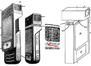 Illustration for article titled Nokia's Patent Reveals Innovative Six- or Eight- Megapixel Slider Phone