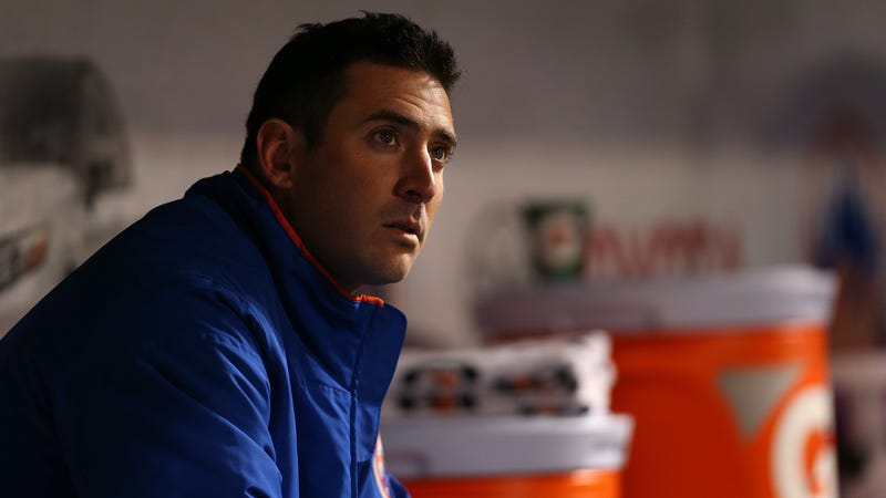 Illustration for article titled Relief Pitcher Matt Harvey Seems A Little Cranky